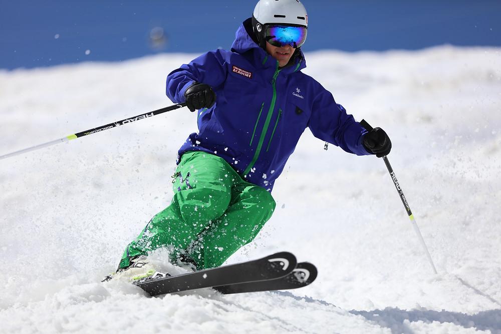 Schönskilauf präsentiert von einem Ausbilder der Snowsports Academy