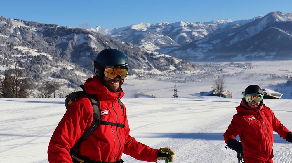Ausbilder Snowsports Academy bei Skilehrer Ausbildung