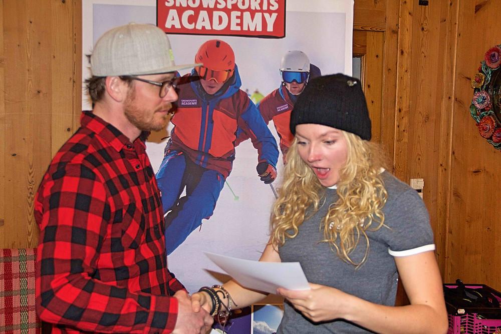 Zeugnisvergabe Skilehrerausbildung