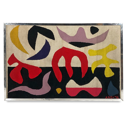 Tapestry in the Manner of Alexander Calder