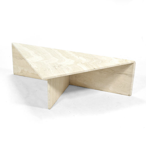 Triangular Coffee Table/ Pedestal by Up & Up