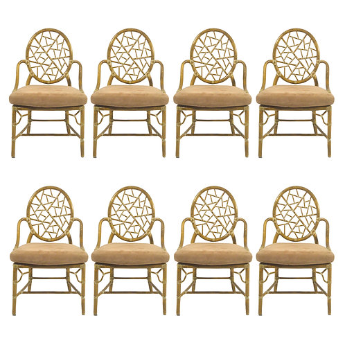 """Elinor McGuire """"Cracked Ice"""" Dining Chairs"""