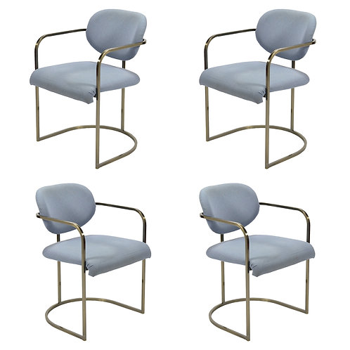 Set of Four Armchairs by Design Institute of America