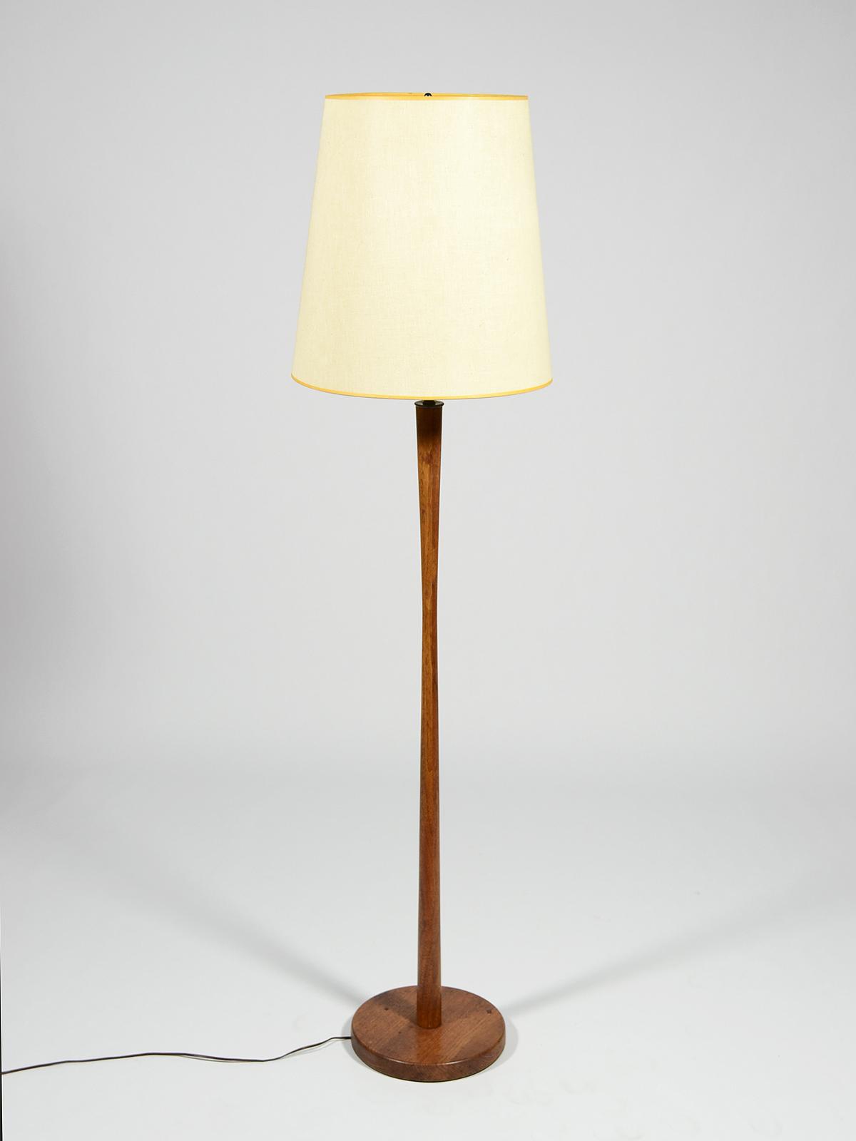 Walnut Floor Lamp