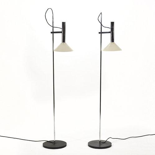 Pair of Floor Lamps by Robert Sonneman