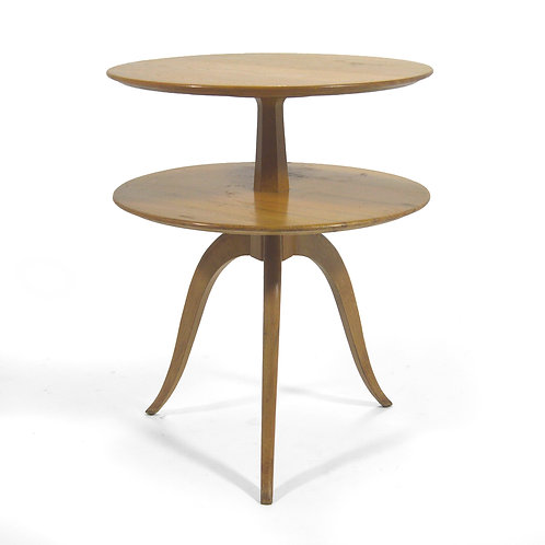 Paul Frankl Two-Tiered Table by Brown-Saltman