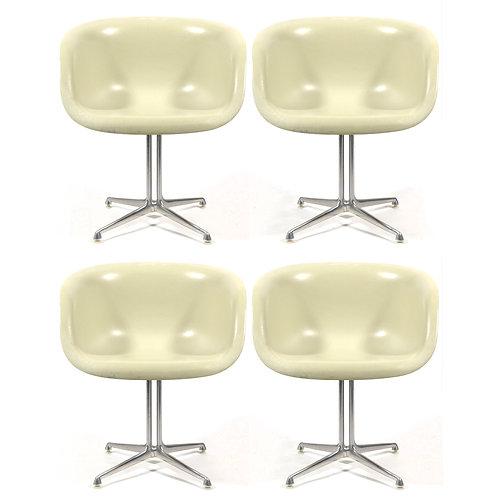 Set of Eames and Girard La Fonda Chairs