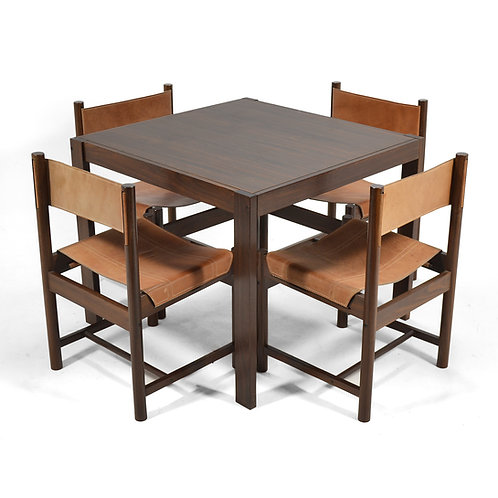 Michel Arnoult Table & Four Chairs