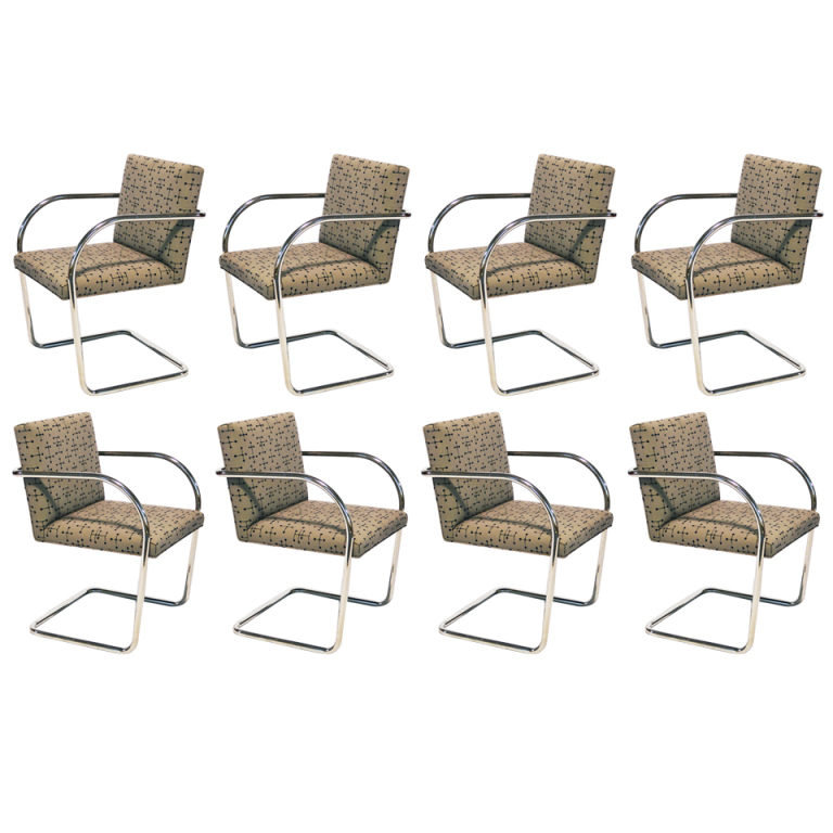 Mies Brno Chairs by Knoll