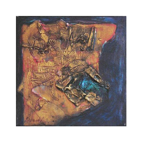 John Beardsley Mixed Media Abstraction
