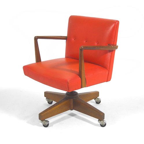 Jens Risom Model 1303 Executive Desk Chair