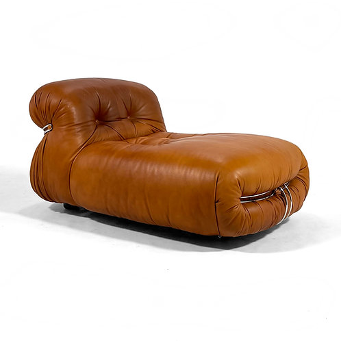 """Afra & Tobia Scarpa """"Soriana"""" Chaise Lounge by Cassina"""