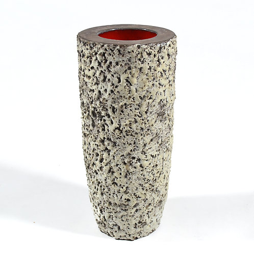 Large Vase with Fat Lava Glaze by Meister
