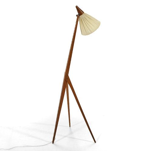 "Uno & Östen Kristiansson ""Giraffe""Floor Lamp by Luxus"