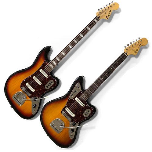 2014 Squier Vintage Modified Jaguar & Bass VI