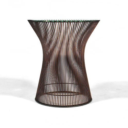 Platner Side Table by Knoll in Rare Copper