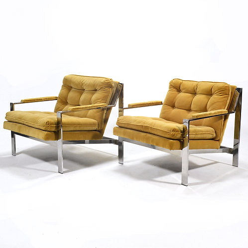 Pair of Cy Mann Lounge Chairs