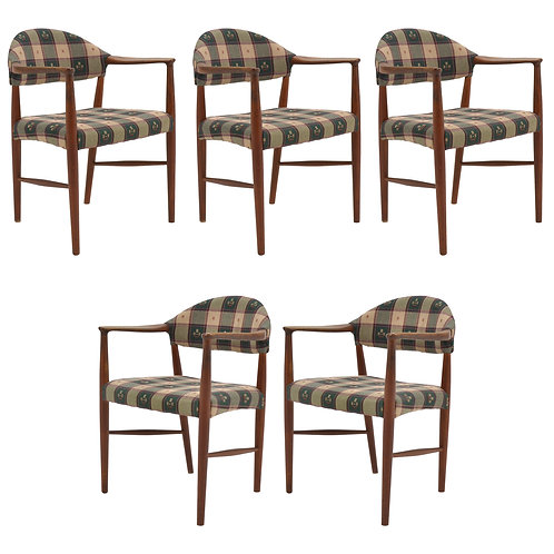 Kurt Olsen Model 223 Teak Armchairs
