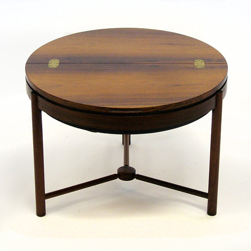 Rosewood table by Rolf Rastad & Adolf Relling