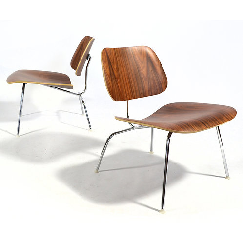 Matched Pair of Eames LCM Lounge Chairs