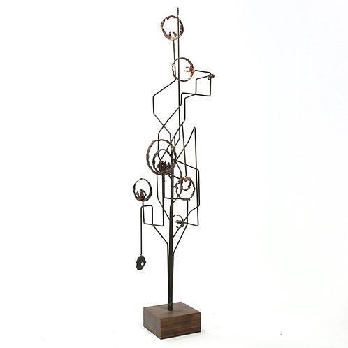 James Bearden Cosmic Wire Sculpture