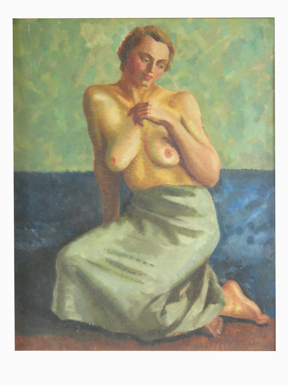 Robert Brackman Oil Painting