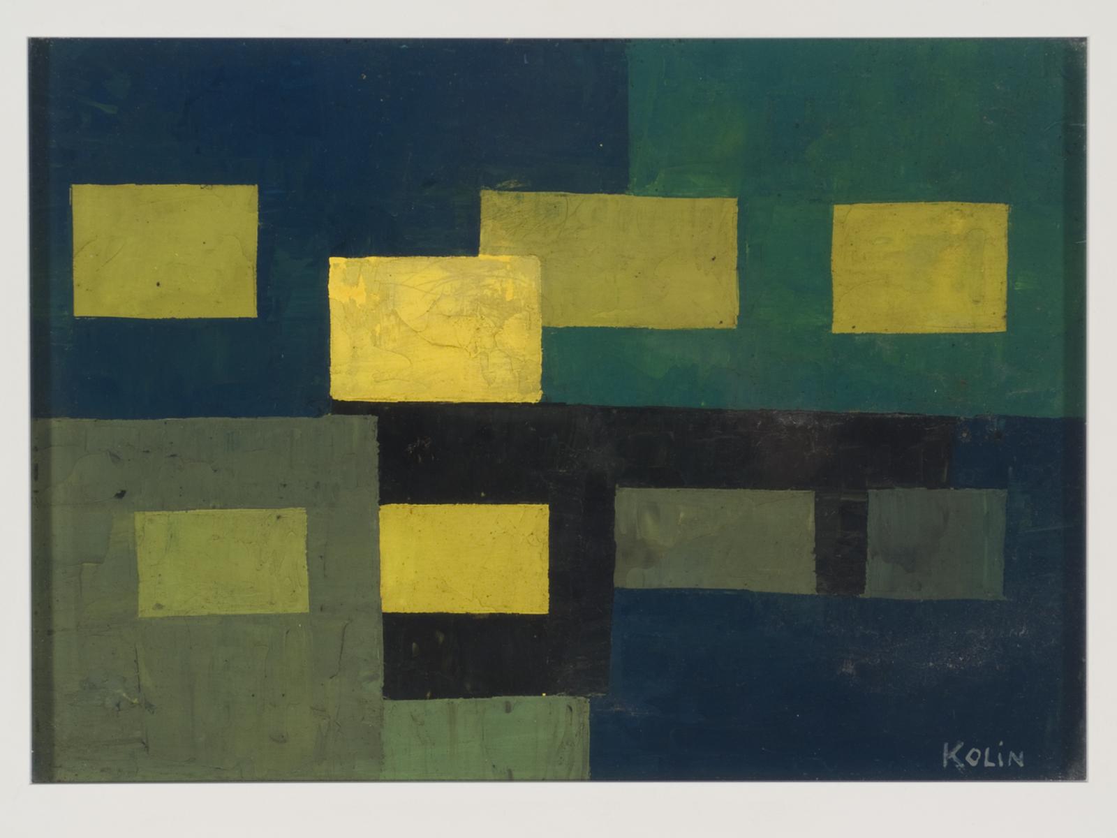 Sacha Kolin Oil Painting