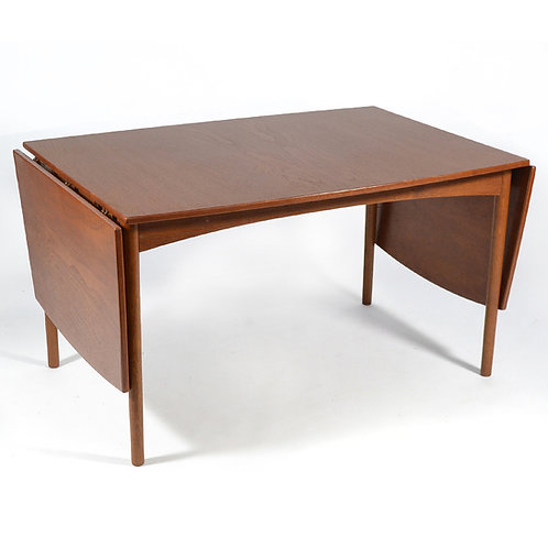 Teak Drop-Leaf Table by Børge Mogensen