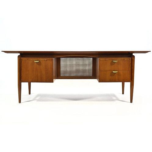 Finn Juhl Rare Double Pedestal Desk