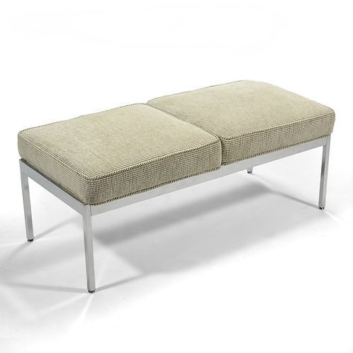Steelcase Bench in the manner of Florence Knoll