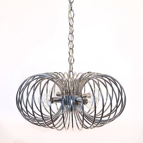 """Gaetano Sciolari """"Cage"""" pendant lamp by Lightolier"""