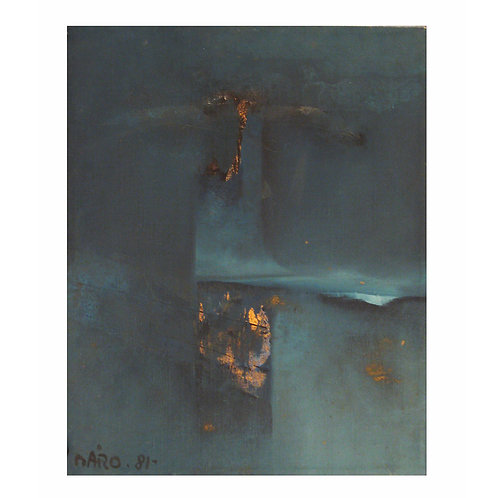 Antonio Maro' Abstract Painting