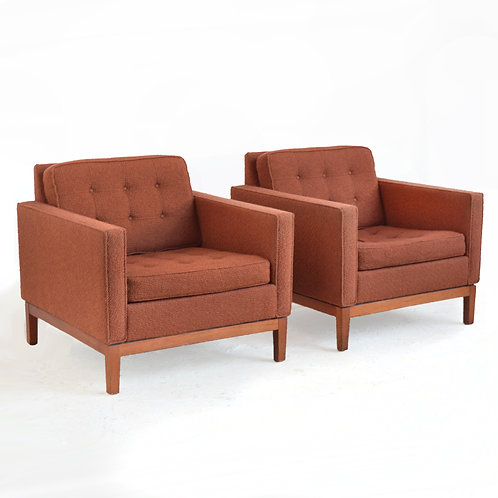 Pair of Steelcase Lounge Chairs