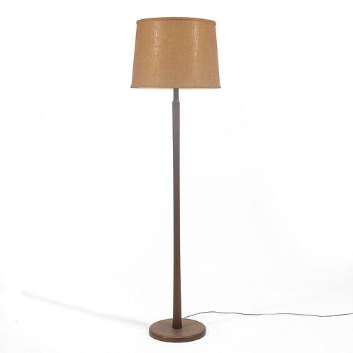 Martz Walnut Floor Lamp
