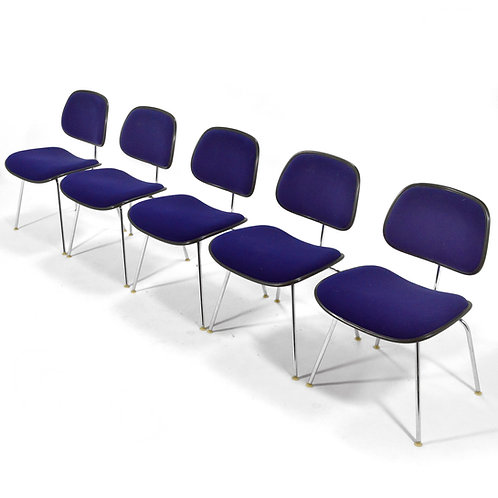Set of Five Eames DCMs by Herman Miller