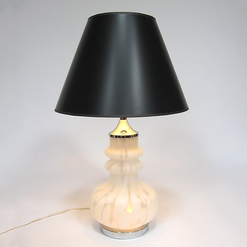 Laurel Table Lamp with Italian Glass Base