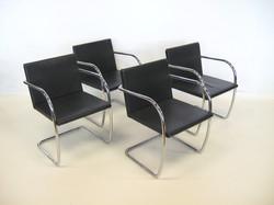 Mies Tubular Brno Chairs by Knoll