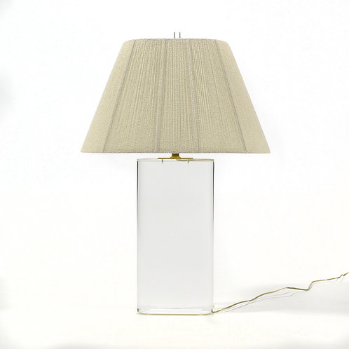 Lucite Table Lamp in the Manner of Karl Springer