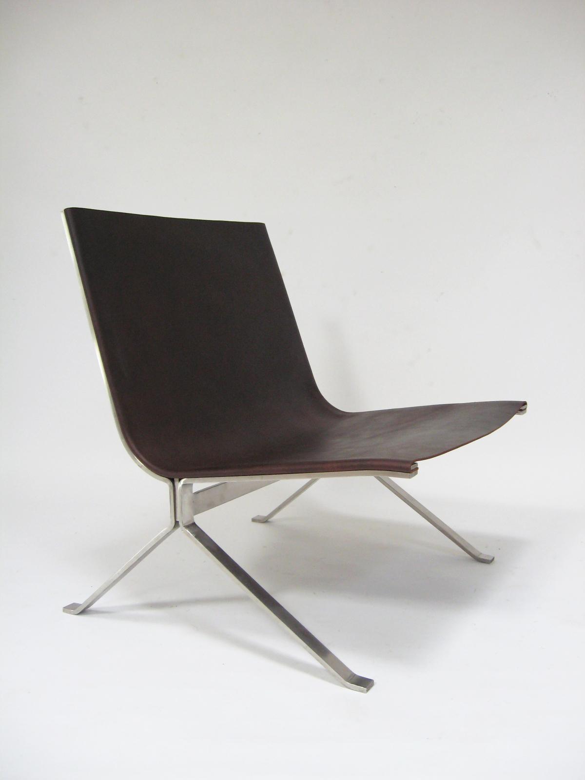 Kjaerholm-style Lounge Chair