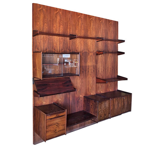 Juul Christiansen Rosewood Wall Unit