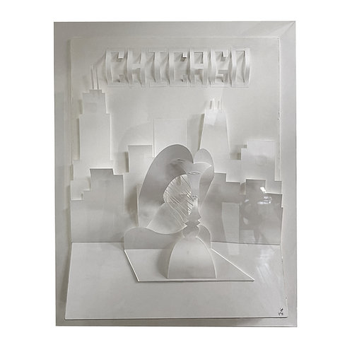"""Kevin Keen """"Chicago"""" Paper Construction"""