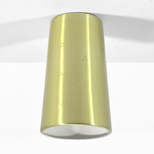 Prescolite Perforated Brass Celing Can Lights