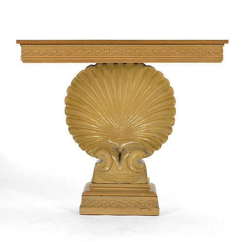 Ed Wormley Shell Console Table by Dunbar