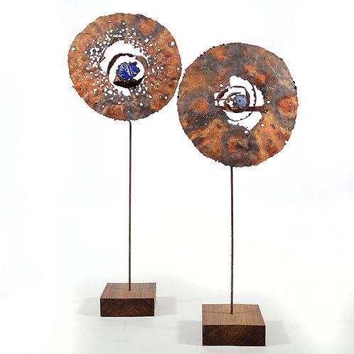 James Bearden Lunar Bloom Sculptures
