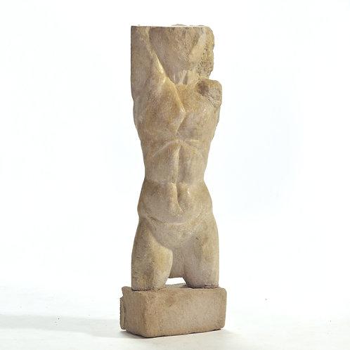 Carved Stone Torso