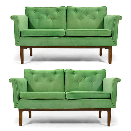 Edward Wormley Pair of Sofas / Settees