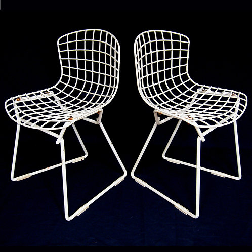"Pair of Bertoia ""Baby"" Chairs by Knoll"