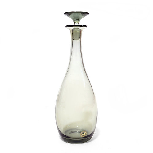 Holmgaard Smoked Glass Decanter