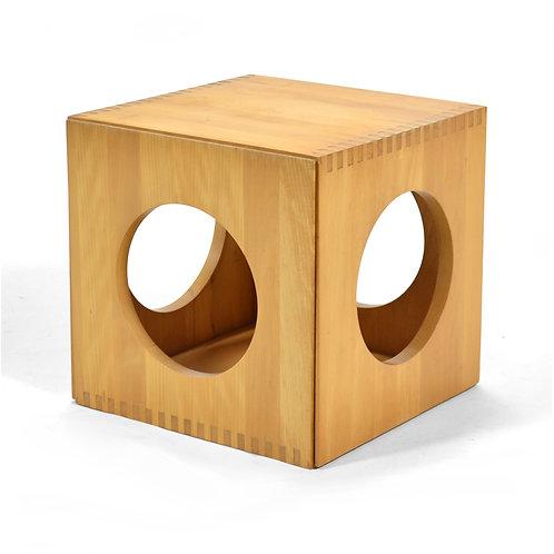 Jens Quistgaard Cube End Tables by Richard Nissen