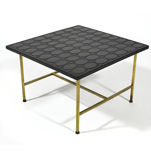 Paul McCobb Brass Side or End Table